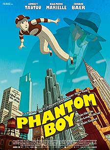 Phantom Boy Free Cartoon Pictures