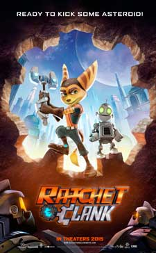 Ratchet & Clank Cartoon Picture
