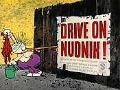 Drive On, Nudnik! Cartoon Picture