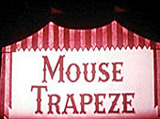 Mouse Trapeze Free Cartoon Picture
