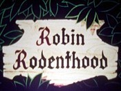Robin Rodenthood Free Cartoon Picture