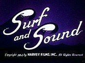 Surf And Sound Free Cartoon Picture