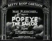 Popeye The Sailor Cartoon Picture