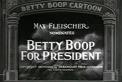 Betty Boop For President Cartoon Picture