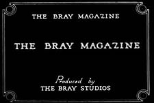 Bray Novelty Magazine Theatrical Cartoon Series Logo