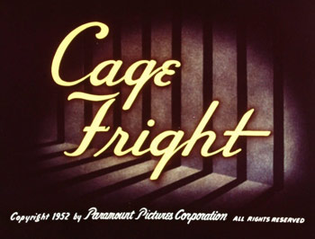 Cage Fright Picture To Cartoon