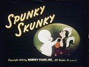 Spunky Skunky Picture To Cartoon