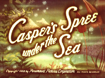 Casper's Spree Under The Sea Picture To Cartoon