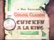 Chicken A La King Cartoon Character Picture