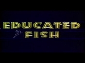 Educated Fish Cartoon Character Picture