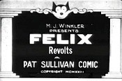 Felix Revolts Picture Of The Cartoon
