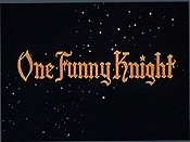 One Funny Knight Free Cartoon Picture