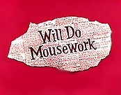 Will Do Mousework Free Cartoon Picture