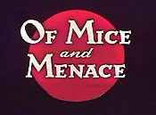 Of Mice And Menace Free Cartoon Picture