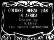 Colonel Heeza Liar In Africa Cartoon Picture