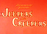Jeepers and Creepers Theatrical Cartoon Series Logo