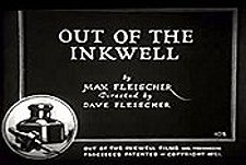 Out of the Inkwell Theatrical Cartoon Series Logo