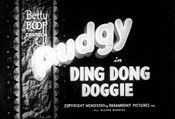Ding Dong Doggie Cartoon Picture