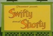 Swifty and Shorty Theatrical Cartoon Series Logo