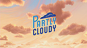Partly Cloudy Cartoon Picture