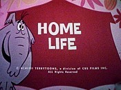 Home Life Cartoon Picture