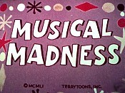 Musical Madness Cartoon Picture