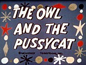 The Owl And The Pussy Cat Cartoon Picture