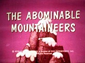 The Abominable Mountaineers Cartoon Picture
