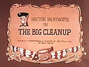 The Big Cleanup Cartoon Picture