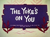 The Yoke's On You Cartoon Funny Pictures