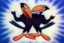 Heckle and Jeckle Theatrical Cartoon Series Logo