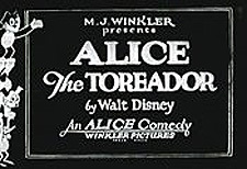 Alice Comedies Theatrical Cartoon Series Logo