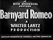 Barnyard Romeo The Cartoon Pictures