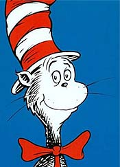 Dr. Seuss' The Cat In The Hat Picture To Cartoon