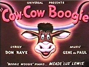 Cow-Cow Boogie Cartoon Pictures