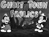 Ghost Town Frolics The Cartoon Pictures