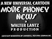 Movie Phoney News The Cartoon Pictures