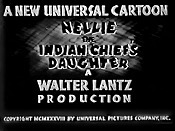 Nellie The Indian Chief's Daughter The Cartoon Pictures