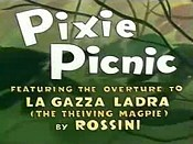 Pixie Picnic Cartoon Picture