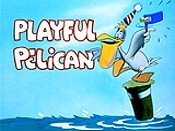 Playful Pelican Picture To Cartoon