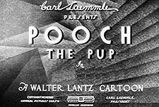 Pooch the Pup Theatrical Cartoon Series Logo
