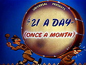 $21 A Day- (Once A Month) Cartoon Pictures