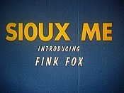 Sioux Me Cartoon Picture
