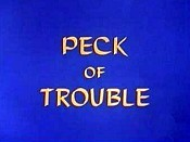 Peck Of Trouble Picture To Cartoon