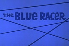 The Blue Racer Theatrical Cartoon Series Logo
