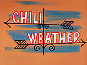 Chili Weather Cartoon Picture