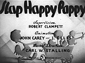 Synopsis For The Theatrical Cartoon Slap Happy Pappy