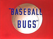 Baseball Bugs Cartoon Picture