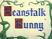 Beanstalk Bunny Free Cartoon Pictures