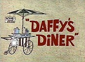 Daffy's Diner Cartoon Picture